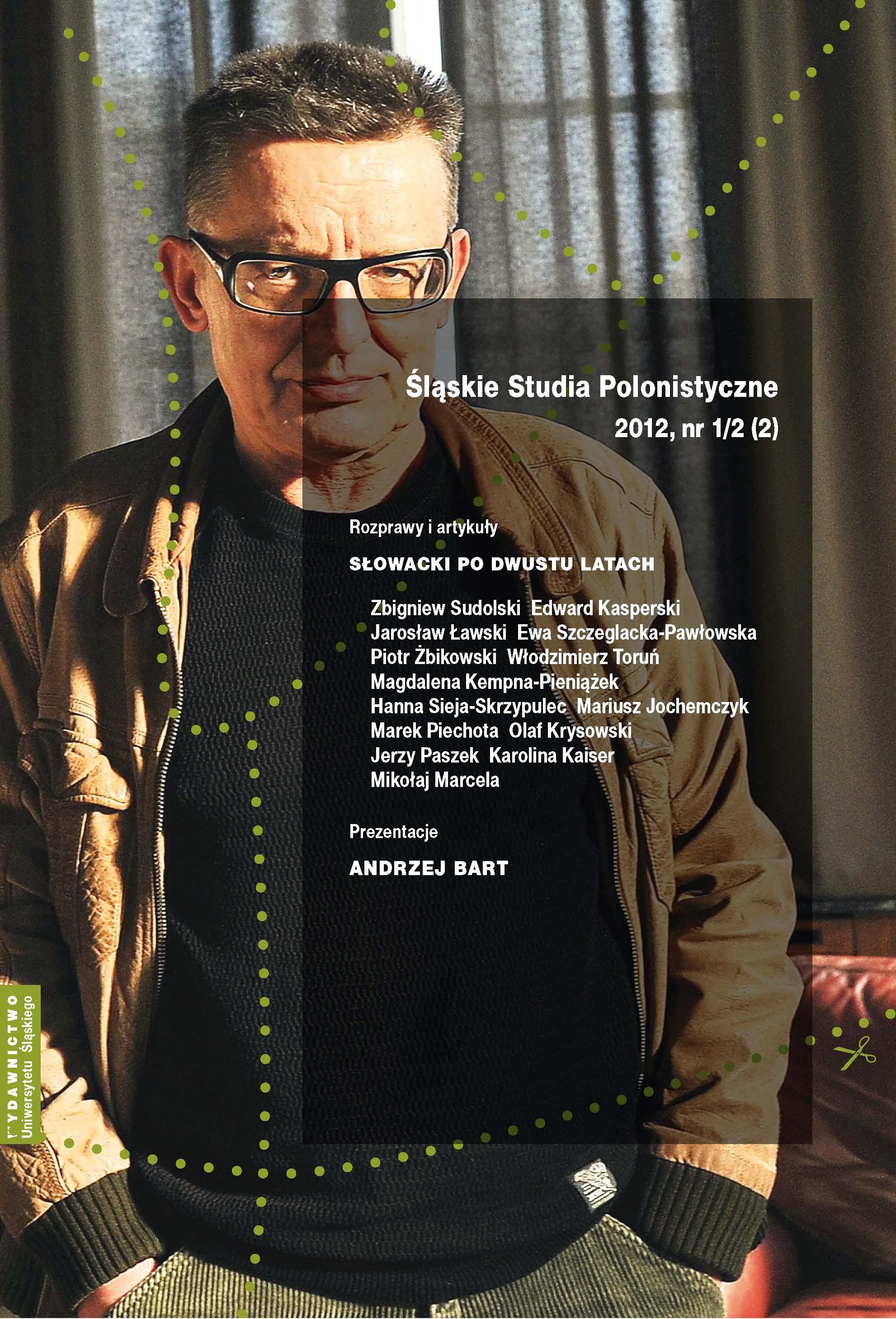 Śląskie Studia Polonistyczne 2012 nr 1-2 (2)