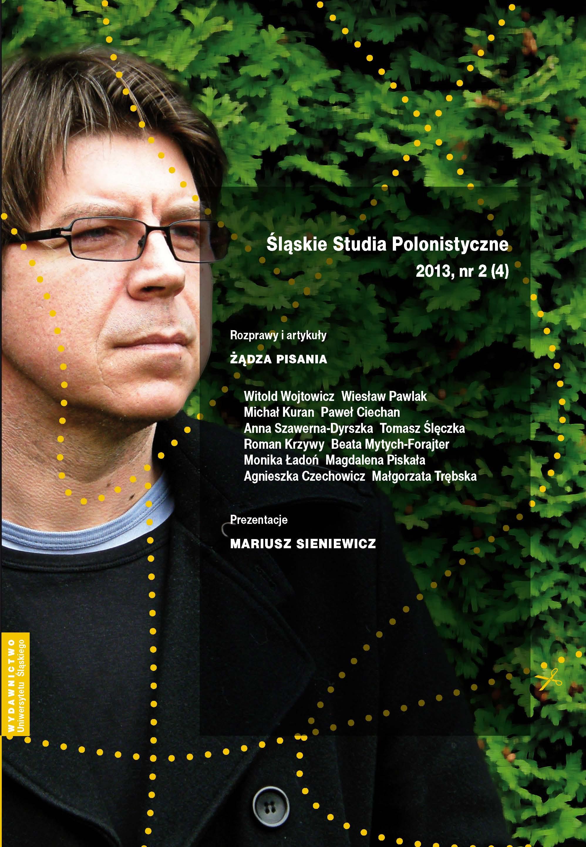 Śląskie Studia Polonistyczne 2013 nr 2 (4)