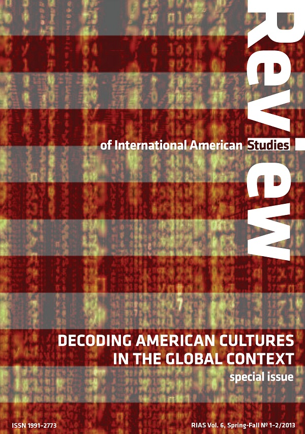 Decoding American Cultures in the Global Context—RIAS Vol. 6, No. 1–2, Spring–Fall (1–2/2013)