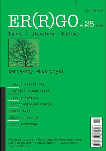 ER(R)GO nr 28 (1/2014) - konteksty ekokrytyki