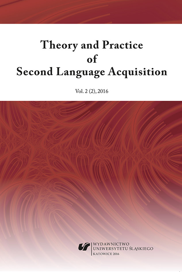 Theory and Practice of Second Language Acquisition